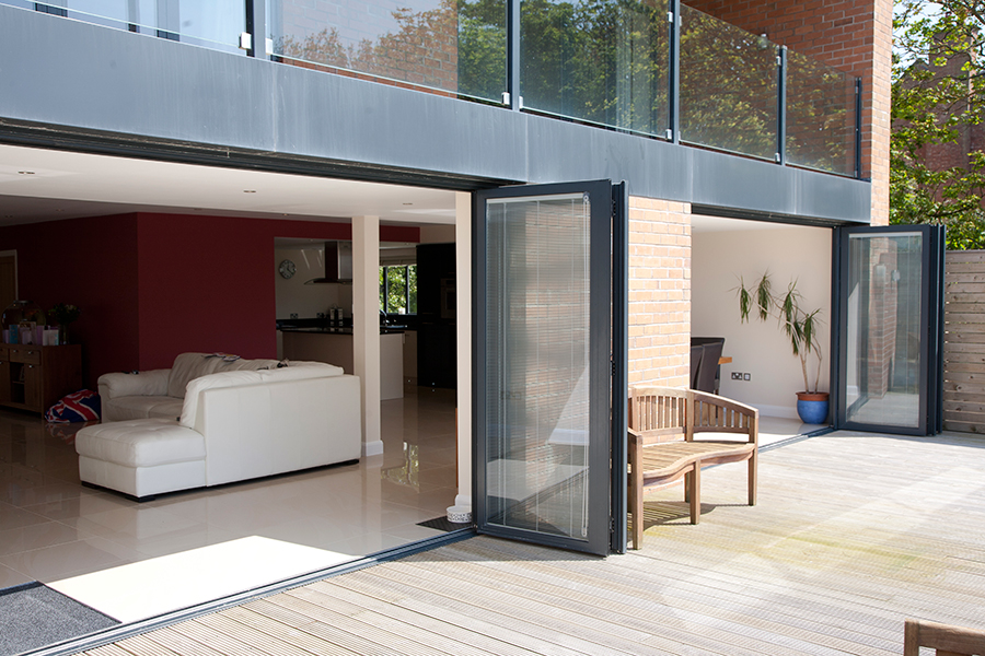 Aluminium Bi Fold Doors In Cornwall By All Glass