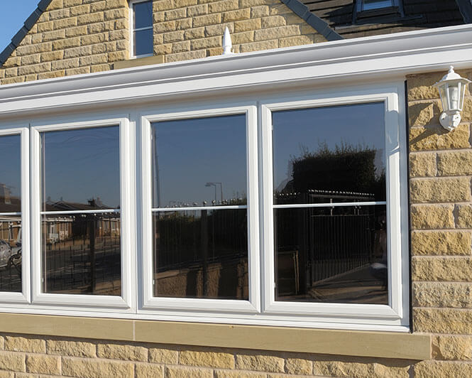 White uPVC Double Glazing Windows Doors