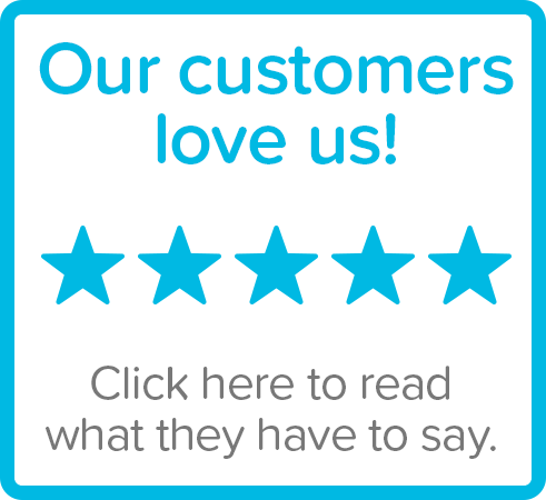 Our customers love us. Click here to ready what they have to say.