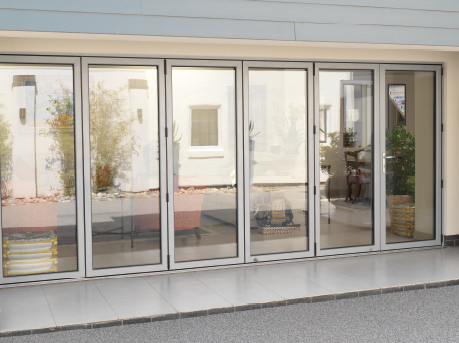 Aluminium Bi Fold Doors In Cornwall By All Glass
