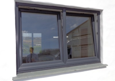 Anthracite grey upvc window truro, Penzance