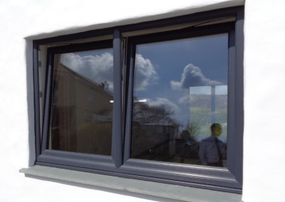 Upvc tilt and turn window in anthracite grey, upvc penzance, upvc redruth, upvc truro