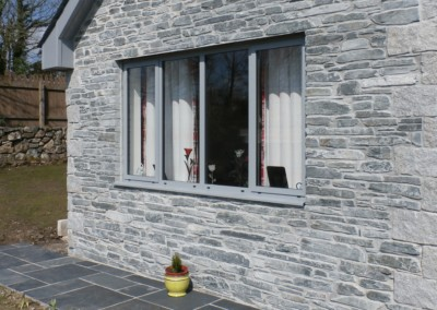 Slate Grey aluminium case ment window alitherm truro