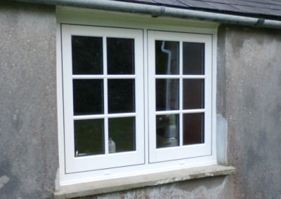 upvc replacement window fitted and double glazin in falmouth
