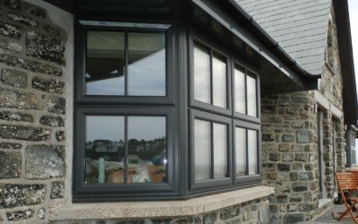 Upvc double glazed window Penzance