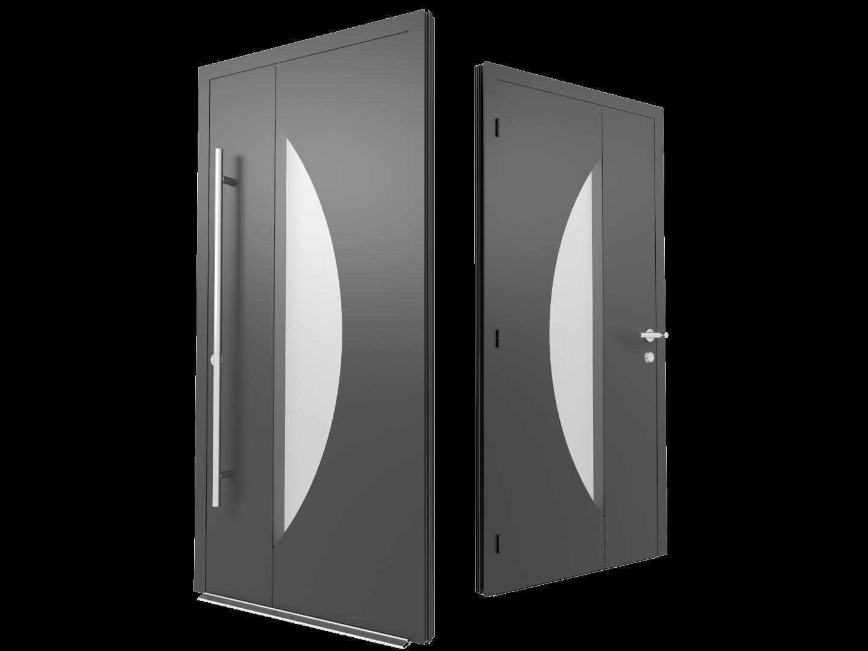 Designer Aluminium Front Doors Cornwall
